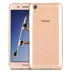 Silikon Hülle Handyhülle Ultradünn Tasche Durchsichtig Transparent für Huawei Honor Holly 3 Gold