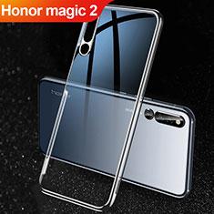 Silikon Hülle Handyhülle Ultradünn Tasche Durchsichtig Transparent für Huawei Honor Magic 2 Schwarz