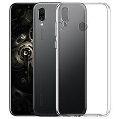 Silikon Hülle Handyhülle Ultradünn Tasche Durchsichtig Transparent für Huawei Honor Play Klar
