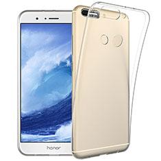 Silikon Hülle Handyhülle Ultradünn Tasche Durchsichtig Transparent für Huawei Honor V9 Klar