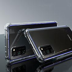 Silikon Hülle Handyhülle Ultradünn Tasche Durchsichtig Transparent für Huawei Honor View 30 5G Klar