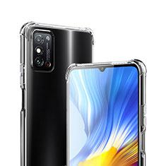 Silikon Hülle Handyhülle Ultradünn Tasche Durchsichtig Transparent für Huawei Honor X10 Max 5G Klar