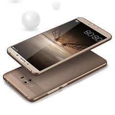 Silikon Hülle Handyhülle Ultradünn Tasche Durchsichtig Transparent für Huawei Mate 10 Grau