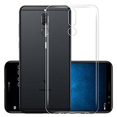 Silikon Hülle Handyhülle Ultradünn Tasche Durchsichtig Transparent für Huawei Mate 10 Lite Klar
