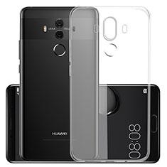 Silikon Hülle Handyhülle Ultradünn Tasche Durchsichtig Transparent für Huawei Mate 10 Pro Klar