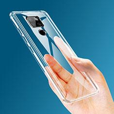 Silikon Hülle Handyhülle Ultradünn Tasche Durchsichtig Transparent für Huawei Mate 20 Klar
