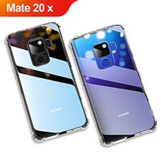 Silikon Hülle Handyhülle Ultradünn Tasche Durchsichtig Transparent für Huawei Mate 20 X 5G Klar