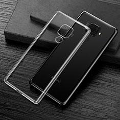 Silikon Hülle Handyhülle Ultradünn Tasche Durchsichtig Transparent für Huawei Mate 30 Lite Klar