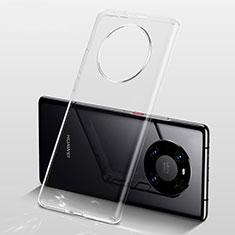 Silikon Hülle Handyhülle Ultradünn Tasche Durchsichtig Transparent für Huawei Mate 40 Pro+ Plus Klar