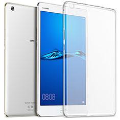 Silikon Hülle Handyhülle Ultradünn Tasche Durchsichtig Transparent für Huawei MediaPad M3 Klar