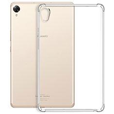 Silikon Hülle Handyhülle Ultradünn Tasche Durchsichtig Transparent für Huawei MediaPad M6 10.8 Klar