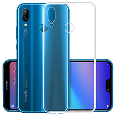 Silikon Hülle Handyhülle Ultradünn Tasche Durchsichtig Transparent für Huawei Nova 3 Klar