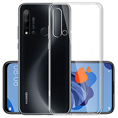 Silikon Hülle Handyhülle Ultradünn Tasche Durchsichtig Transparent für Huawei Nova 5i Klar