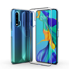 Silikon Hülle Handyhülle Ultradünn Tasche Durchsichtig Transparent für Huawei Nova 6 5G Klar