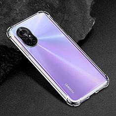 Silikon Hülle Handyhülle Ultradünn Tasche Durchsichtig Transparent für Huawei Nova 8 5G Klar
