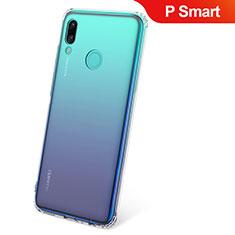 Silikon Hülle Handyhülle Ultradünn Tasche Durchsichtig Transparent für Huawei P Smart (2019) Klar