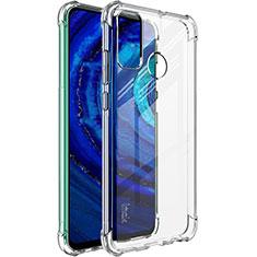 Silikon Hülle Handyhülle Ultradünn Tasche Durchsichtig Transparent für Huawei P Smart (2020) Klar