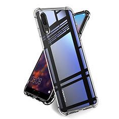 Silikon Hülle Handyhülle Ultradünn Tasche Durchsichtig Transparent für Huawei P20 Klar
