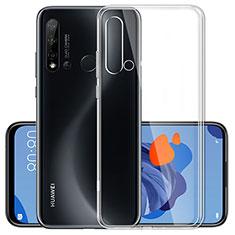 Silikon Hülle Handyhülle Ultradünn Tasche Durchsichtig Transparent für Huawei P20 Lite (2019) Klar