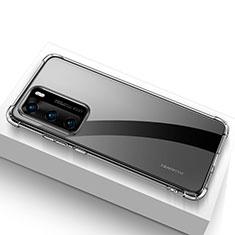 Silikon Hülle Handyhülle Ultradünn Tasche Durchsichtig Transparent für Huawei P40 Klar