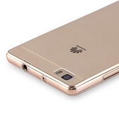 Silikon Hülle Handyhülle Ultradünn Tasche Durchsichtig Transparent für Huawei P8 Lite Klar