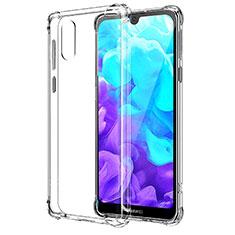 Silikon Hülle Handyhülle Ultradünn Tasche Durchsichtig Transparent für Huawei Y5 (2019) Klar
