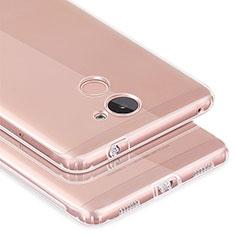 Silikon Hülle Handyhülle Ultradünn Tasche Durchsichtig Transparent für Huawei Y7 Prime Klar