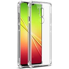 Silikon Hülle Handyhülle Ultradünn Tasche Durchsichtig Transparent für LG G7 Klar