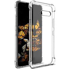 Silikon Hülle Handyhülle Ultradünn Tasche Durchsichtig Transparent für LG G8X ThinQ Klar