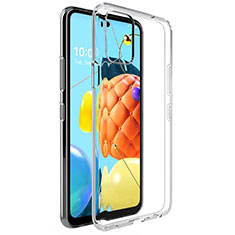 Silikon Hülle Handyhülle Ultradünn Tasche Durchsichtig Transparent für LG K52 Klar