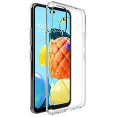 Silikon Hülle Handyhülle Ultradünn Tasche Durchsichtig Transparent für LG Q52 Klar