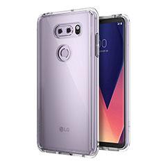 Silikon Hülle Handyhülle Ultradünn Tasche Durchsichtig Transparent für LG V30 Klar