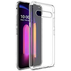 Silikon Hülle Handyhülle Ultradünn Tasche Durchsichtig Transparent für LG V60 ThinQ 5G Klar