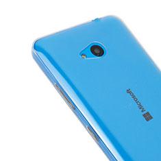 Silikon Hülle Handyhülle Ultradünn Tasche Durchsichtig Transparent für Microsoft Lumia 640 Klar