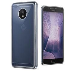 Silikon Hülle Handyhülle Ultradünn Tasche Durchsichtig Transparent für Motorola Moto E4 Plus Klar