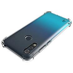 Silikon Hülle Handyhülle Ultradünn Tasche Durchsichtig Transparent für Motorola Moto E6s (2020) Klar