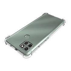 Silikon Hülle Handyhülle Ultradünn Tasche Durchsichtig Transparent für Motorola Moto G9 Power Klar