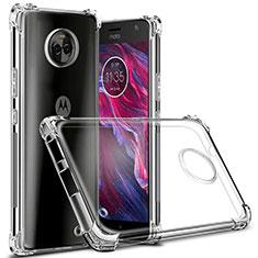 Silikon Hülle Handyhülle Ultradünn Tasche Durchsichtig Transparent für Motorola Moto X4 Klar