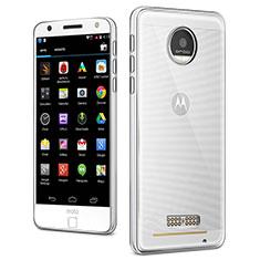 Silikon Hülle Handyhülle Ultradünn Tasche Durchsichtig Transparent für Motorola Moto Z Klar