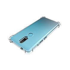 Silikon Hülle Handyhülle Ultradünn Tasche Durchsichtig Transparent für Nokia 2.4 Klar