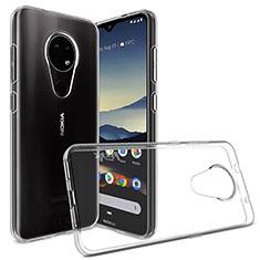 Silikon Hülle Handyhülle Ultradünn Tasche Durchsichtig Transparent für Nokia 6.2 Klar