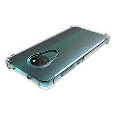 Silikon Hülle Handyhülle Ultradünn Tasche Durchsichtig Transparent für Nokia 7.2 Klar