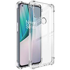 Silikon Hülle Handyhülle Ultradünn Tasche Durchsichtig Transparent für OnePlus Nord N10 5G Klar