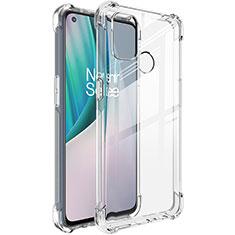 Silikon Hülle Handyhülle Ultradünn Tasche Durchsichtig Transparent für OnePlus Nord N100 Klar