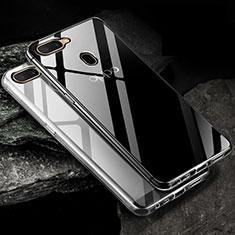 Silikon Hülle Handyhülle Ultradünn Tasche Durchsichtig Transparent für Oppo A12 Klar