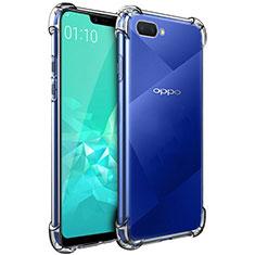 Silikon Hülle Handyhülle Ultradünn Tasche Durchsichtig Transparent für Oppo A12e Klar