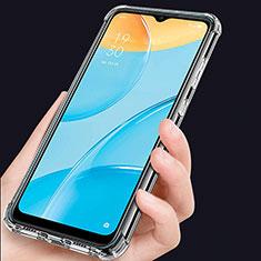 Silikon Hülle Handyhülle Ultradünn Tasche Durchsichtig Transparent für Oppo A15 Klar
