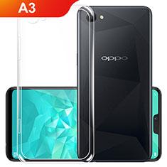 Silikon Hülle Handyhülle Ultradünn Tasche Durchsichtig Transparent für Oppo A3 Klar