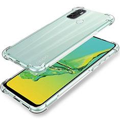 Silikon Hülle Handyhülle Ultradünn Tasche Durchsichtig Transparent für Oppo A32 Klar