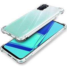 Silikon Hülle Handyhülle Ultradünn Tasche Durchsichtig Transparent für Oppo A52 Klar